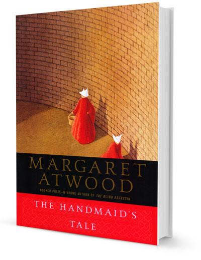 an analysis of margaret atwoods controversial dystopian novel the handmaids tale Weeks ahead of the forthcoming hulu adaptation of the handmaid's tale, a  classic dystopian novel by margaret atwood, the author and the.