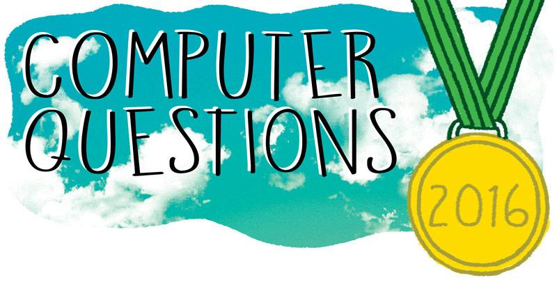 Computer Questions 2016