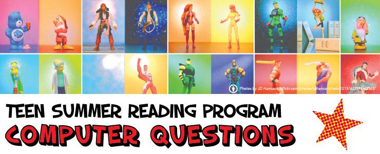 2015 Teen Summer Reading Program Computer Questions