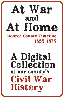 At War and At Home - vertical logo