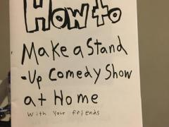 How to Make a Stand-Up Comedy Show at Home