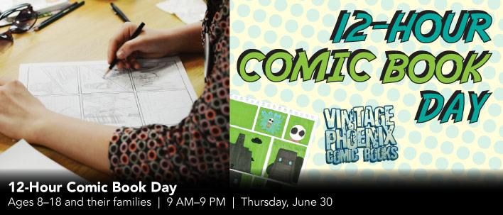 12-Hour Comic Book Day