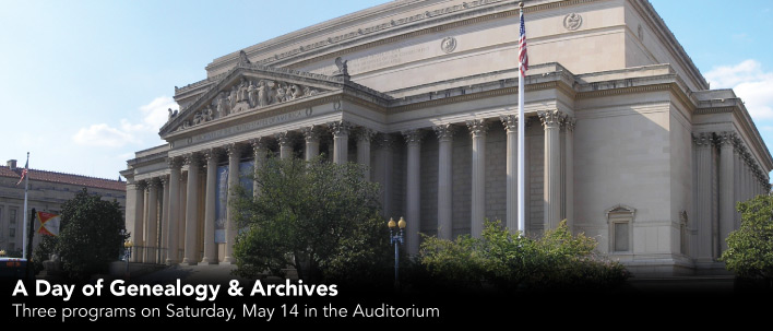 A Day of Genealogy and Archives