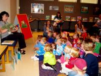 Storytelling at the Ellettsville Branch