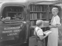 Lois Henze and the Bookmobile
