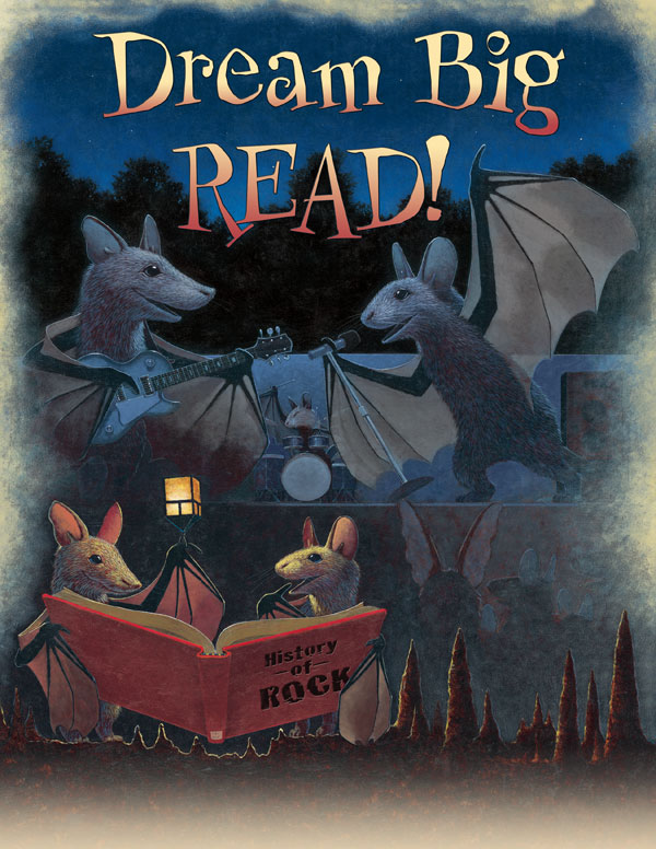 Dream Big Read! Poster