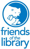 Friends of the Library Logo - full title