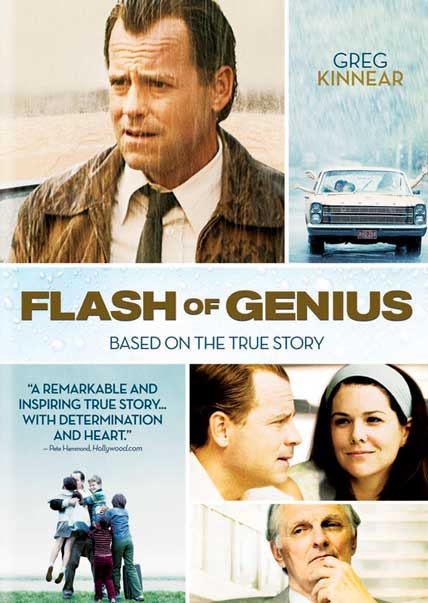 Flash of Genius DVD Cover