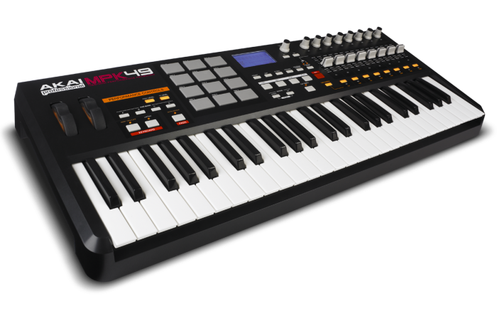 Akai MPK 49 with Logic Pro X