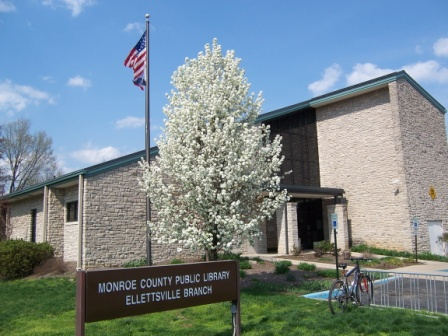 Spring at the Ellettsville Branch