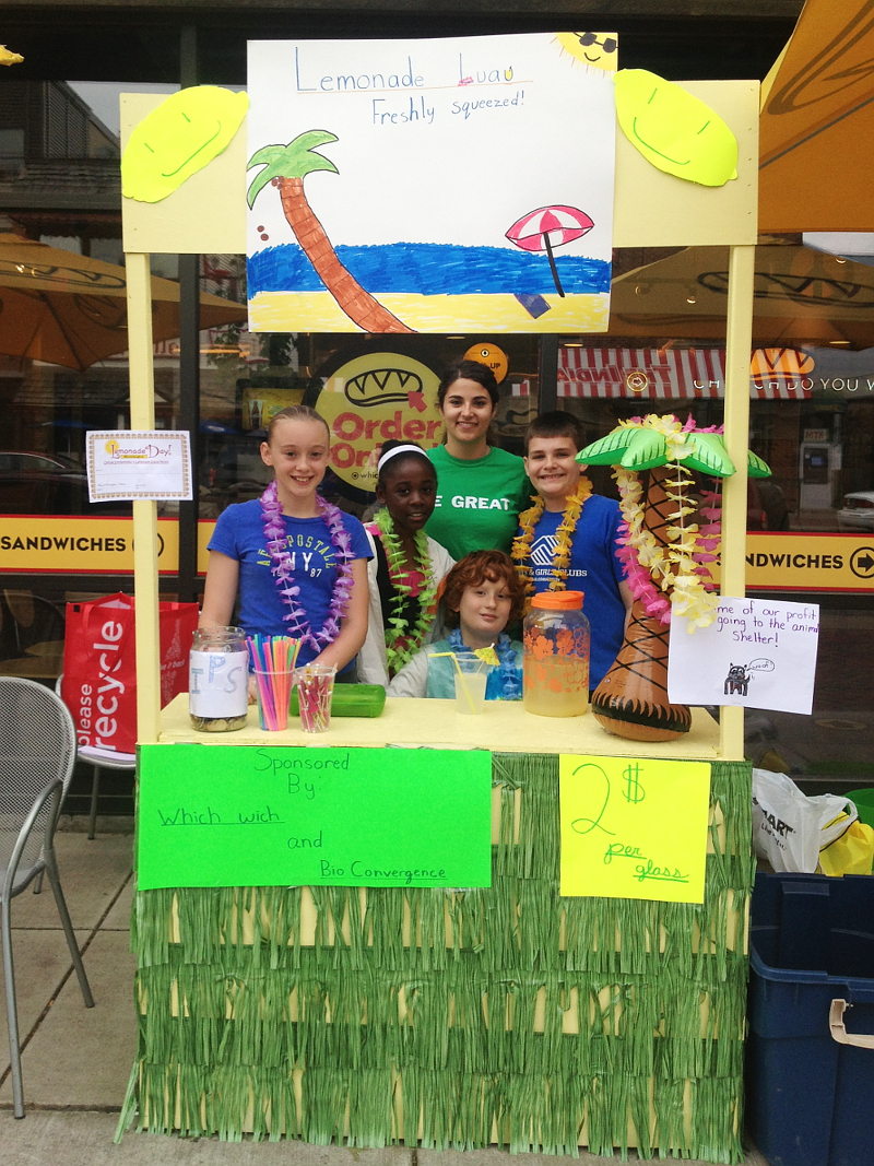 A Bloomington Lemonade Stand.