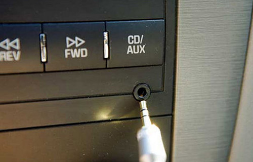 Car Stereo Aux Input