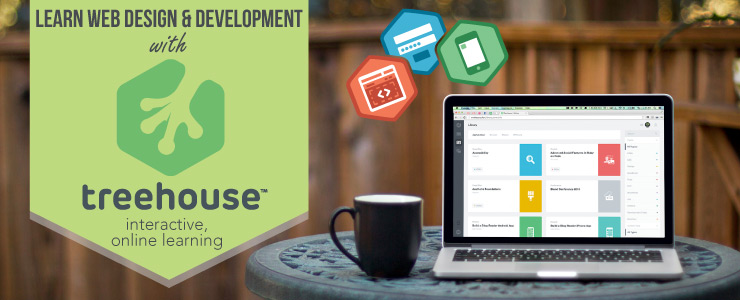Learn Web Design and Development with Treehouse