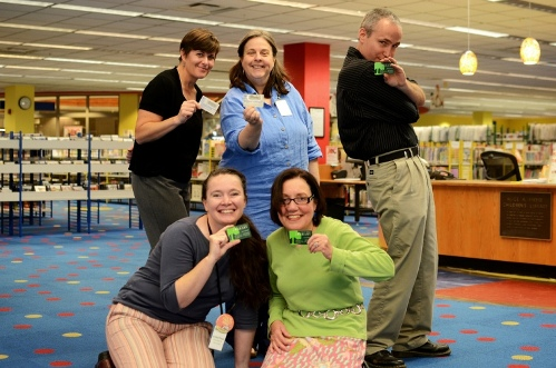 Librarians with MCPL Library Cards