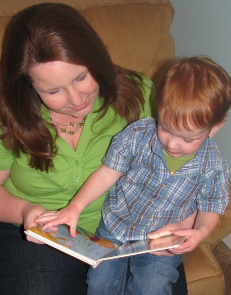 Parent and Toddler Reading Together
