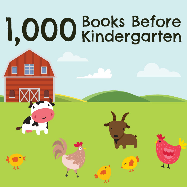 1,000 Book Before Kindergarten