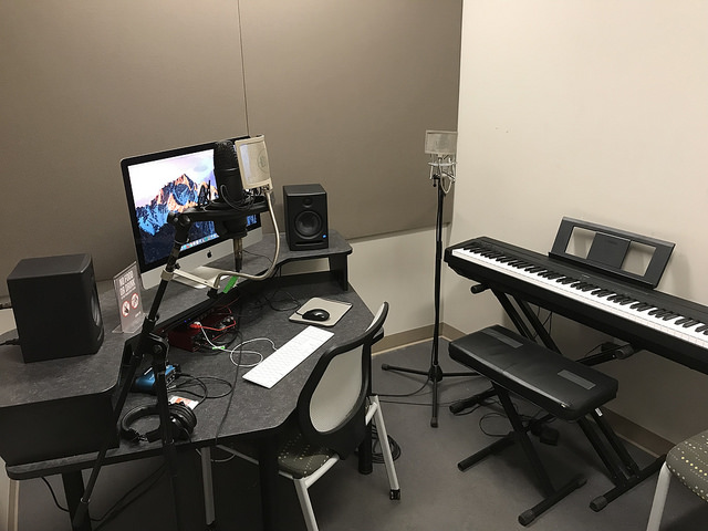 Audio Production Studio 1