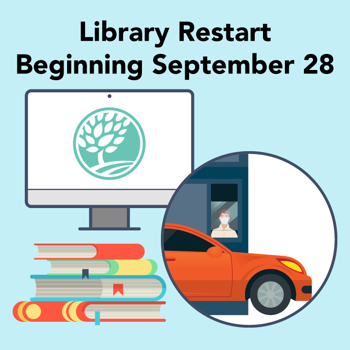 Library Restart Beginning September 28