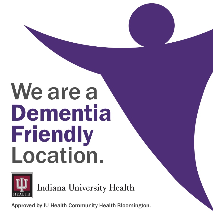 We are a Dementia Friendly Location