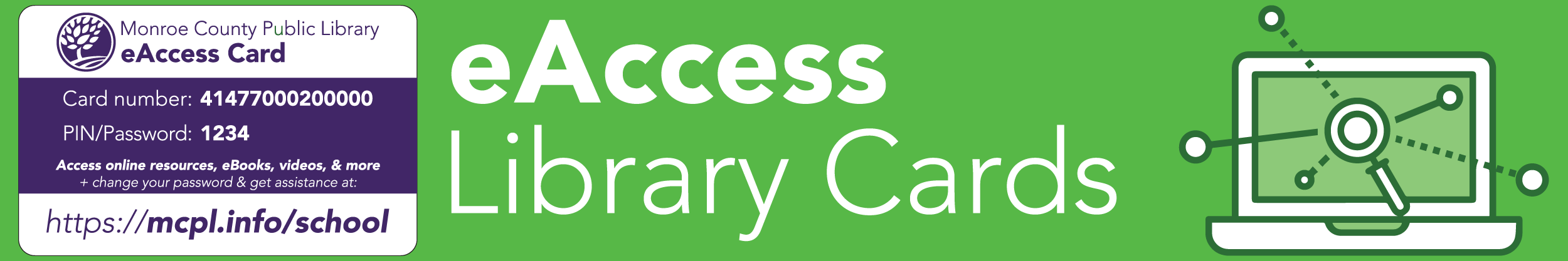 eAccess Library Cards