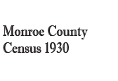 Monroe County Census 1930