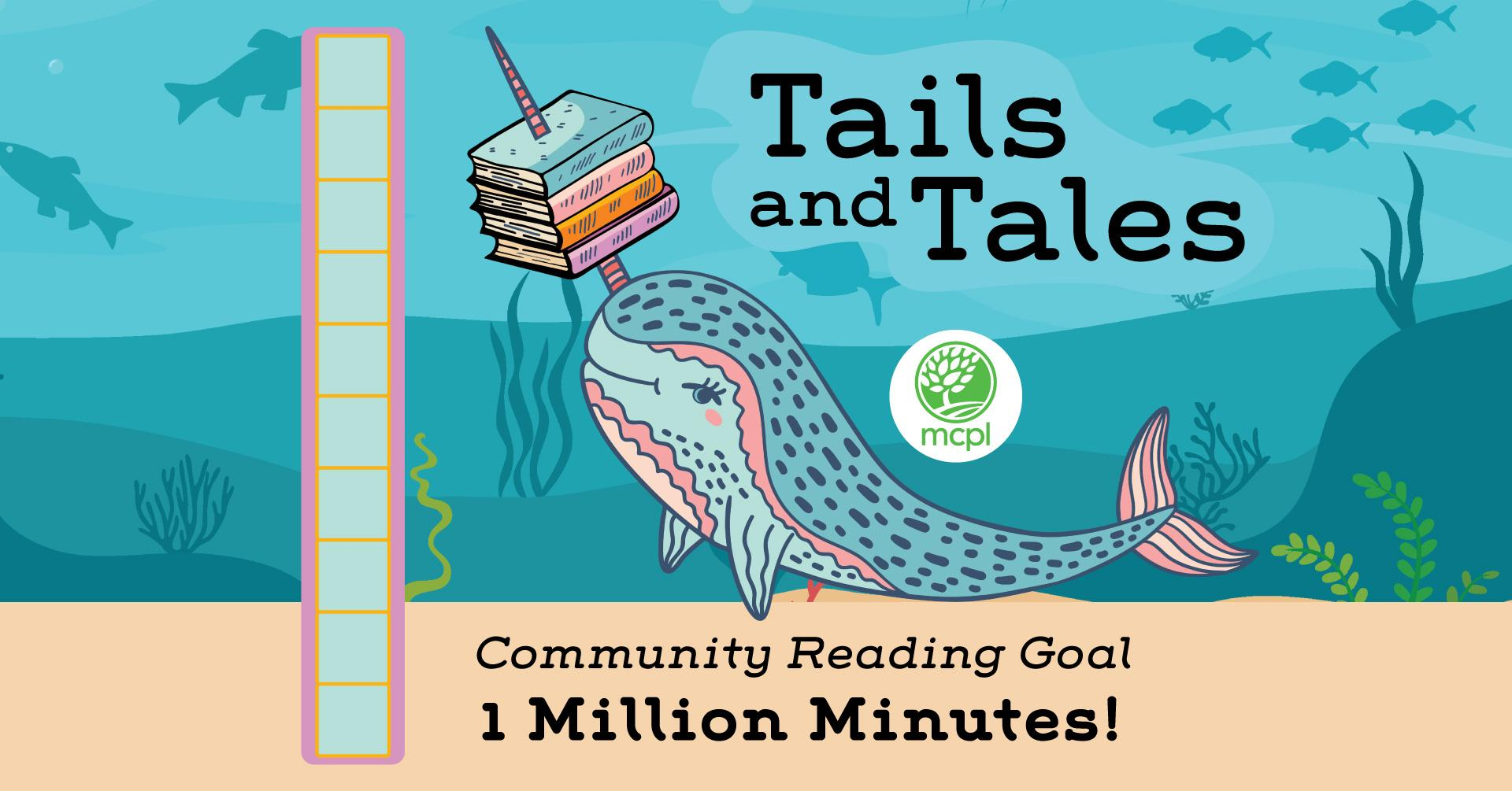 Tails and Tales Community Reading Goal 1 Million Minutes