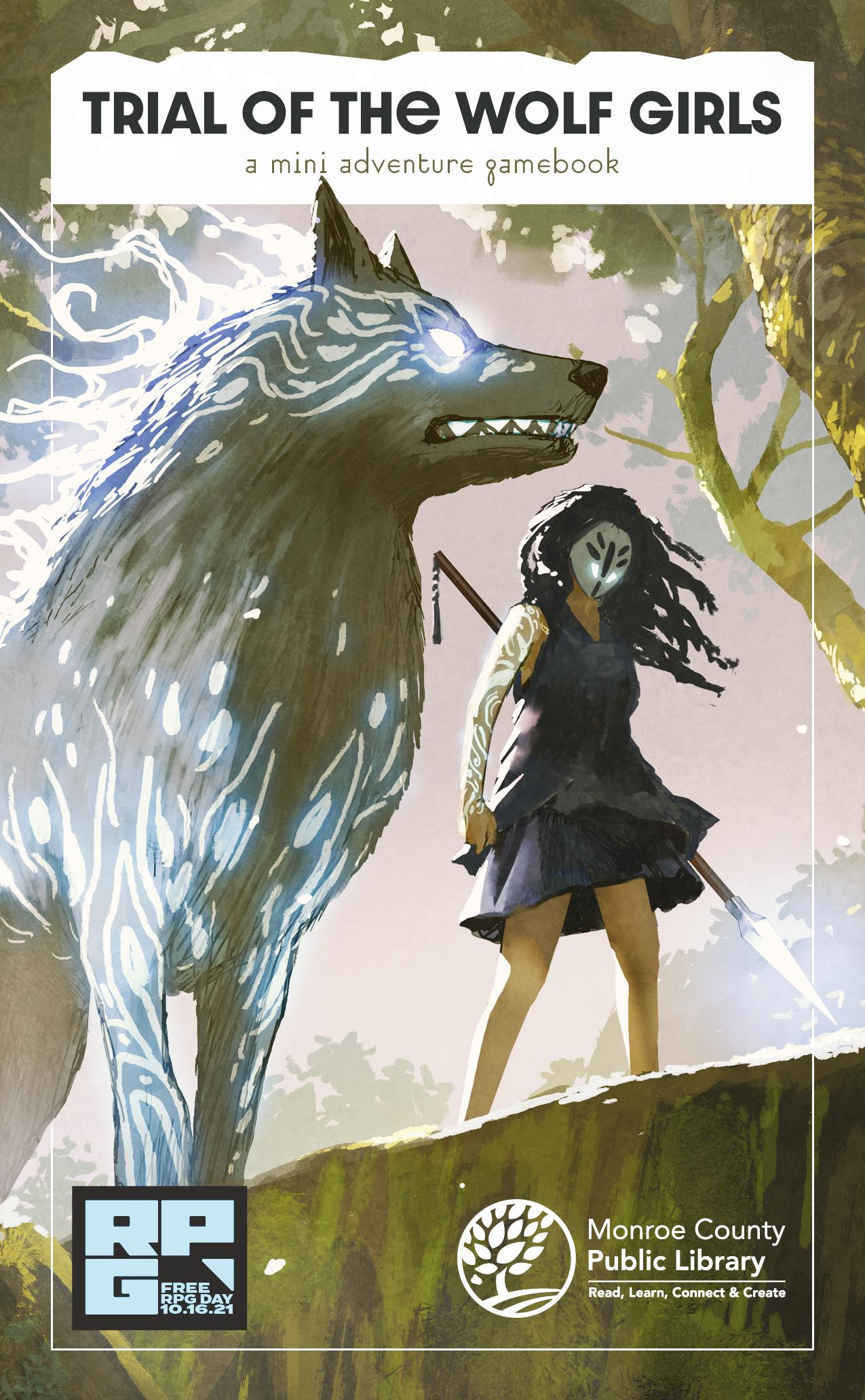 Trial of the Wolf Girls: a mini adventure gamebook