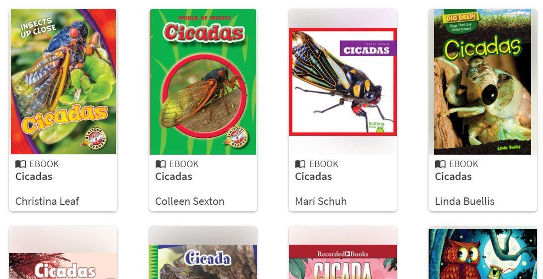 Hoopla Cicada Titles