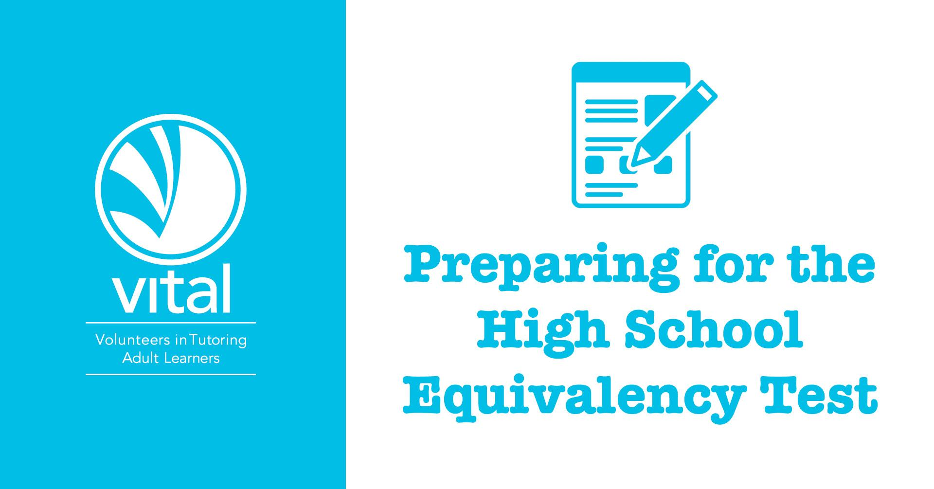 Preparing for the High School Equivalency Test