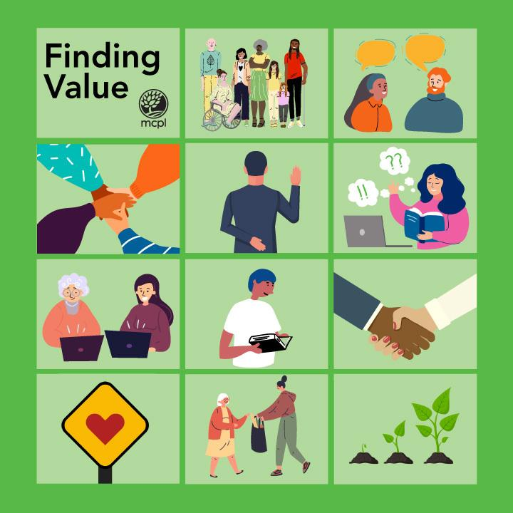 Finding Value depicting different values