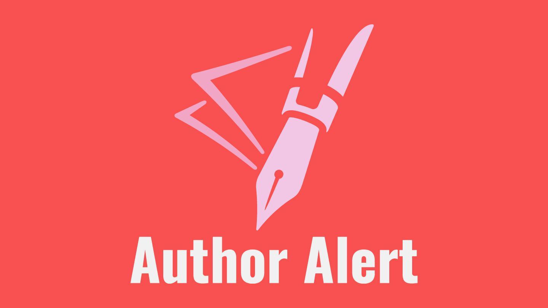 Author Alert