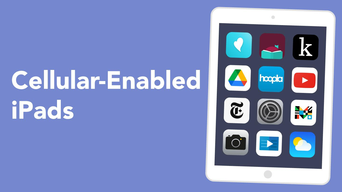Cellular Enabled iPads