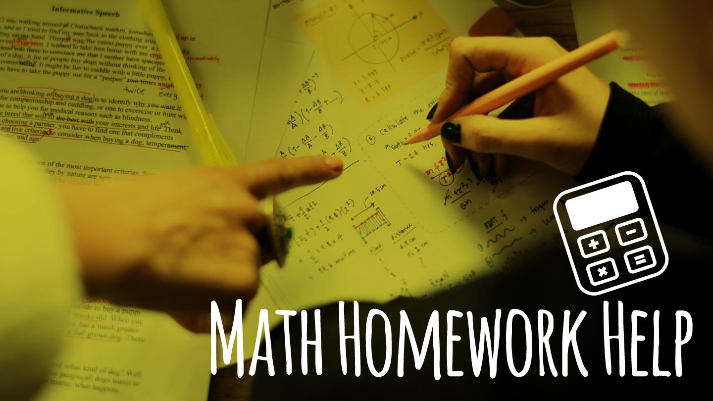 Math Homework Help for Teens