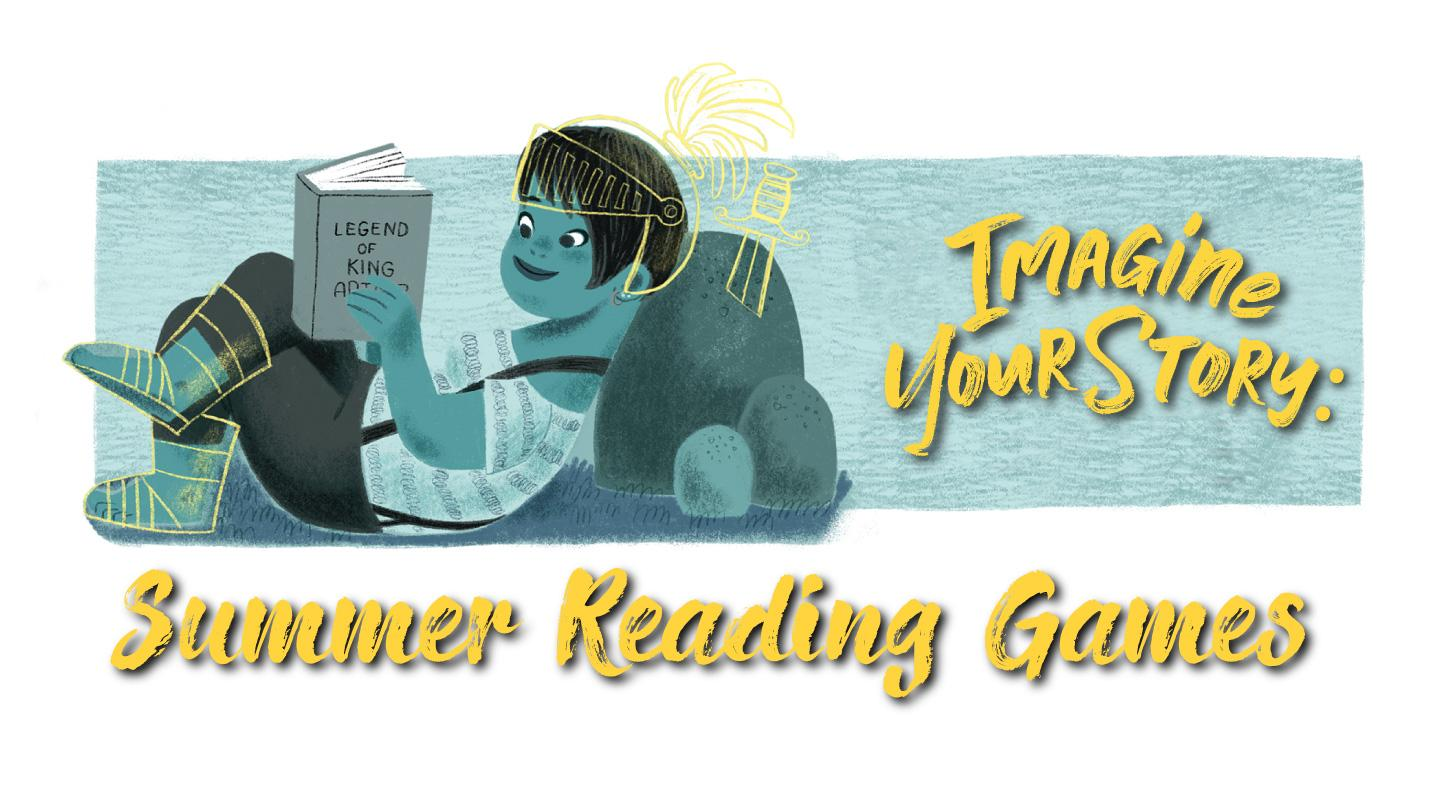 Summer Reading Games: Imagine Your Story
