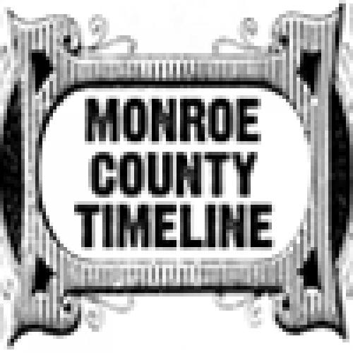 Monroe County Timeline