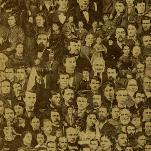 Collage Photo, 1860