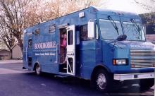 The Bookmoblie purchased in 1997.