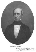 Joseph A. Wright, Governor of Indiana