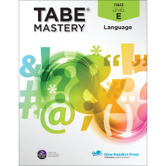 TABE Mastery Language Student Book