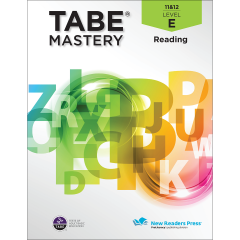 TABE Mastery Reading Student Book